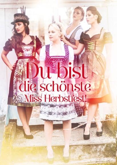 Friseur in Rosenheim für die schönste Miss Herbstfest