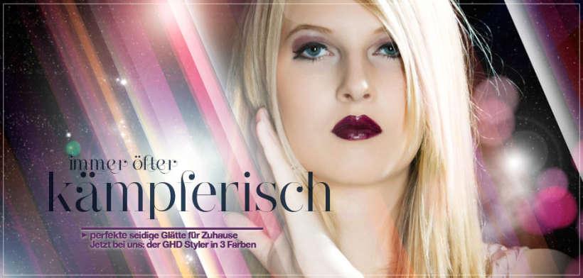 gegen widerspenstige Locken: der ghd Styler bei Ihrem Friseur in Rosenheim